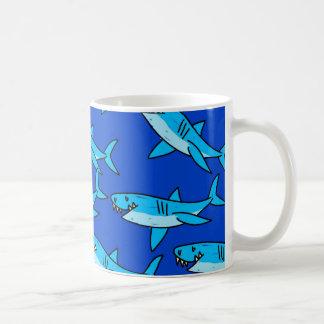 Shark Wallpaper Coffee Mug