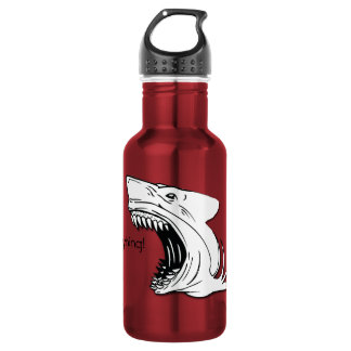 Shark Water Bottle 532 Ml Water Bottle