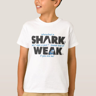 Shark weak white kids t-shirt