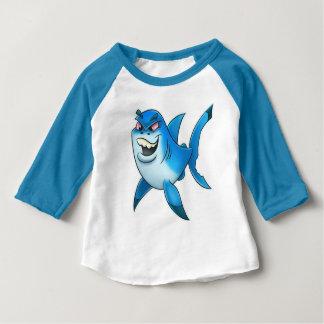 Shark week cartoon shirt for kids