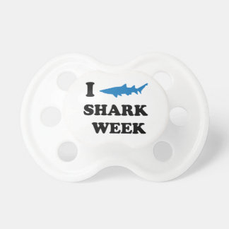 Shark Week Baby Pacifiers