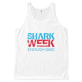 SHARK WEEK All-Over PRINT TANK TOP