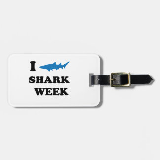 Shark Week Bag Tag