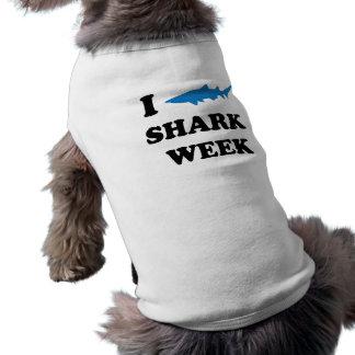 Shark Week Sleeveless Dog Shirt