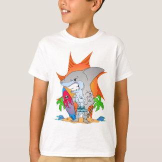 Shark Week Surfer T Shirts