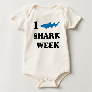 Shark Week Baby Bodysuits