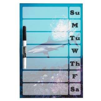 Shark Weekly Planner Dry Erase Board