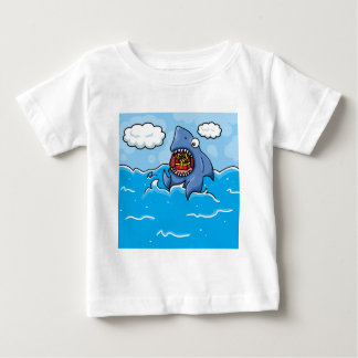 Shark with Present Baby T-Shirt