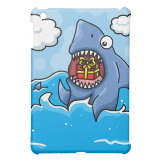 Shark with Present iPad Mini Cases