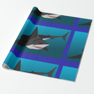 shark wrapping paper