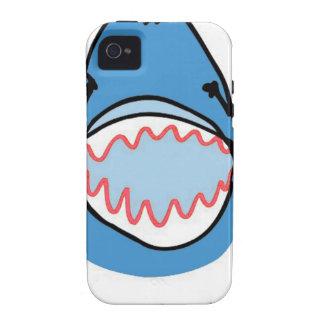Sharkbite for Shark Week August 10-17 2014 in Blue iPhone 4 Case