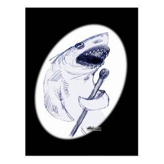 Sharkey Finatra Postcard