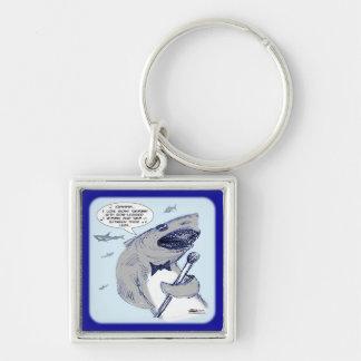 Sharkey Finatra Swimmin Keychain