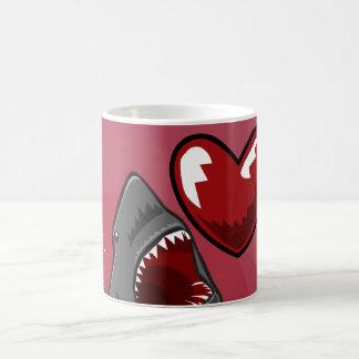 Sharkheart Basic White Mug
