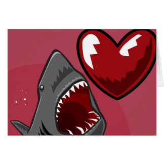 Sharkheart Greeting Card