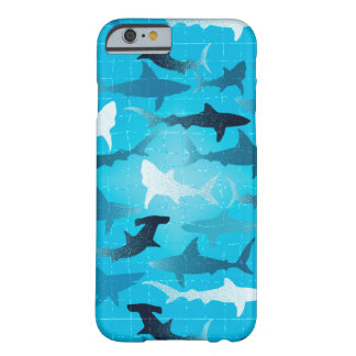 sharks! barely there iPhone 6 case