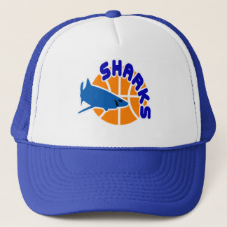Sharks Basketball Cap