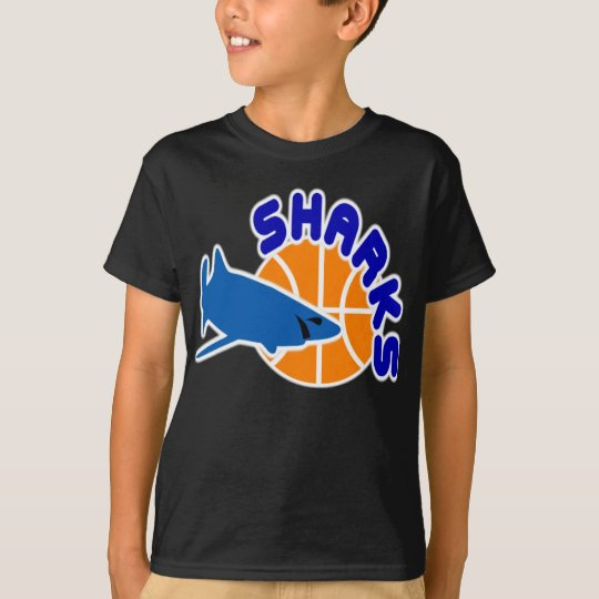 Sharks Basketball T-Shirt