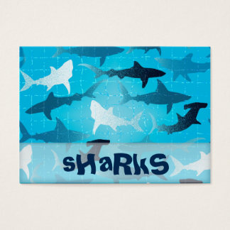 sharks business card