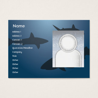 Sharks - Chubby Business Card