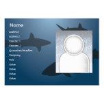 Sharks - Chubby Business Card Template