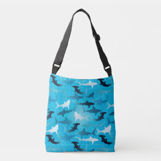 sharks! crossbody bag