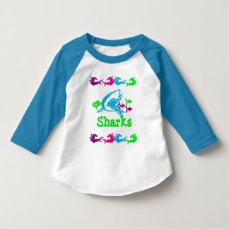 Sharks Design T-Shirt