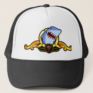 Sharks for sharks' sake trucker cap