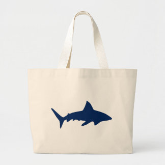 Sharks/Jaws Large Tote Bag