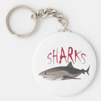 SHARKS KEYCHAINS