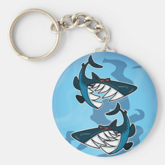 Sharks Key Ring