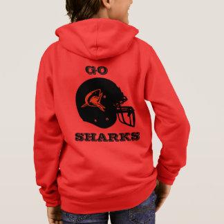 SHARKS Kids' Basic Zip Hoodie