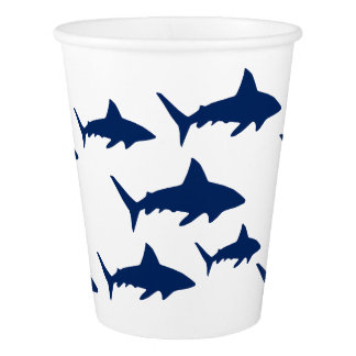 Sharks Paper Cup