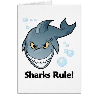 Sharks Rule Cards