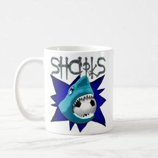 Sharks (Soccer Team) Basic White Mug