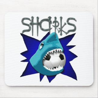 Sharks (Soccer Team) Mouse Pad