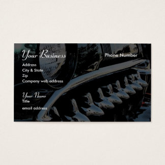 Sharks Teeth Business Card
