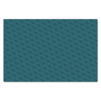 Sharks Territory - Tissue Paper (Teal)