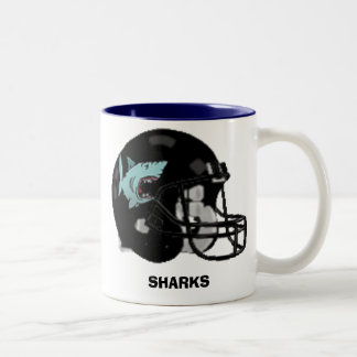 SHARKS Two-Tone COFFEE MUG
