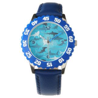 sharks! wristwatch