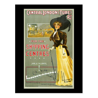 Sharland Central London Railway Shopping Centres Postcard