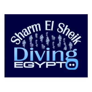 SHARM EL SHEIK postcard, customize Postcard