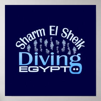 SHARM EL SHEIK poster, customize Poster