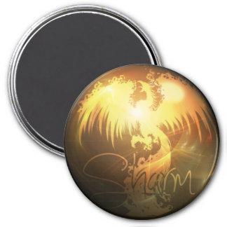 Sharm Phoenix Round Magnet