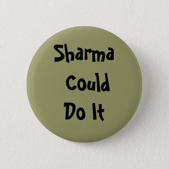 Sharma Could Do It Rock Climbing Button