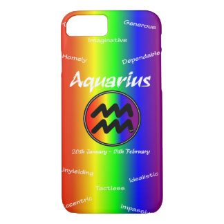 Sharnia Aquarius Mobile Phone Case (Rainbow)