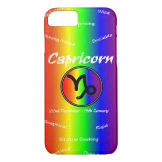 Sharnia Capricorn Mobile Phone Case (Rainbow)