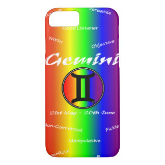 Sharnia Gemini Mobile Phone Case (Rainbow)