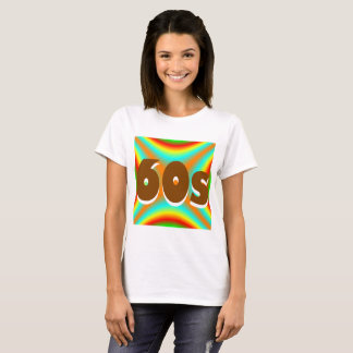 Sharnia's '60s Coloured Background' T-Shirt