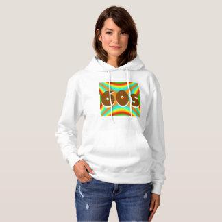 Sharnia's '60s Coloured BG' Hooded Sweatshirt